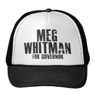 Meg Whitman For Governor 2010 Trucker Hat