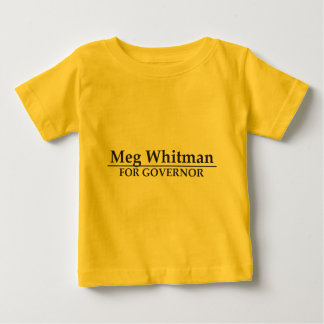 Meg Whitman for Governor Baby T-Shirt