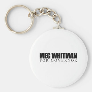 Meg Whitman for Governor Key Chain