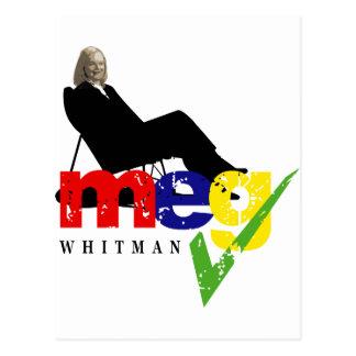 Meg Whitman for Governor Postcard