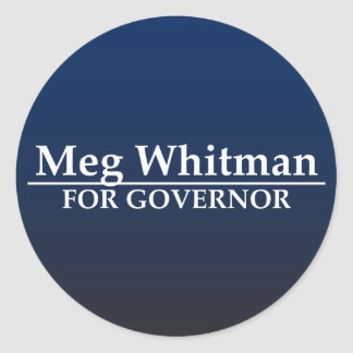 Meg Whitman for Governor Stickers