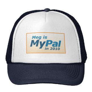 Meg Whitman para el gobernador Gorro
