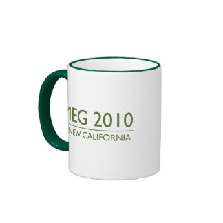 Meg Whitman para el gobernador Taza De Café
