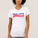 Meg Whitman Red White and Blue Americana Shirts