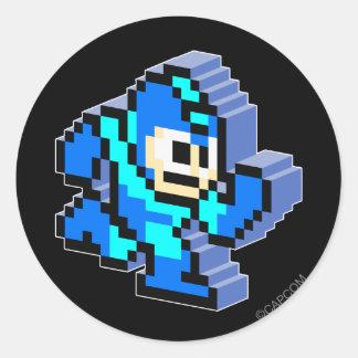 Mega 3D Round Stickers