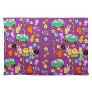 Mega 60s Pattern Fun Cloth Placemat