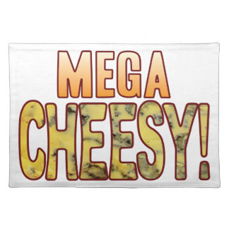 Mega Blue Cheesy Placemat