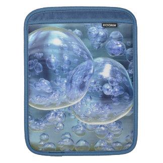 Mega Bubbles Bubbly Fun iPad Sleeve