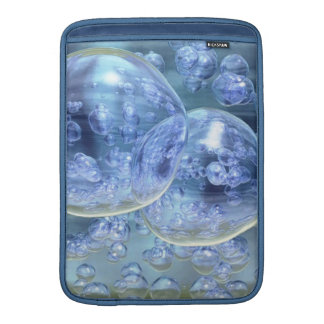 Mega Bubbles Bubbly Fun MacBook Air Sleeves