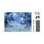 Mega Bubbles Bubbly Fun Postage Stamp