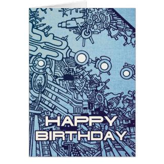 Mega Doodle Birthday 2 Greeting Cards