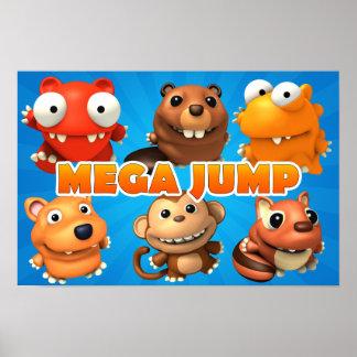 Mega Jump Poster