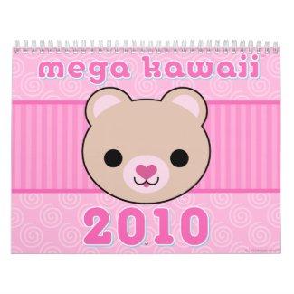 Mega Kawaii 2010 Calendar calendar