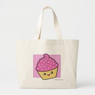 Mega Kawaii Cupcake Tote Bag bag