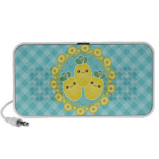 Mega Kawaii Cute Fresh Lemons Speaker
