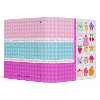 Mega Kawaii School Notebook Avery Binder binder