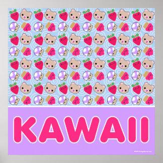 Mega Kawaii Sweet Pattern Giant Poster