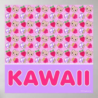 Mega Kawaii Sweetest Pattern Giant Poster