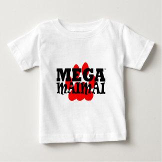 Mega Maimai Red Paw Print Tee Shirts