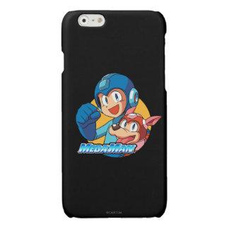 Mega Man & Rush 2 Glossy iPhone 6 Case
