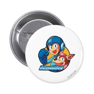Mega Man & Rush Button