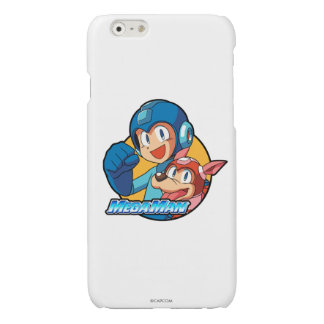 Mega Man & Rush Glossy iPhone 6 Case