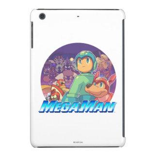Mega Man & Rush Key Art 2 iPad Mini Retina Case