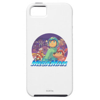 Mega Man & Rush Key Art 2 iPhone SE/5/5s Case