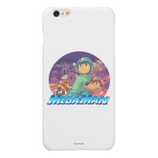 Mega Man & Rush Key Art Glossy iPhone 6 Plus Case