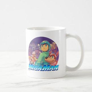 Mega Man & Rush Key Art Mug