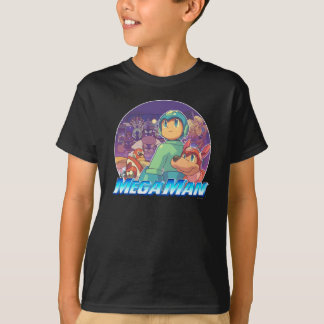 Mega Man & Rush Key Art T-Shirt