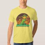 Mega Man & Rush Key Art Tee Shirts