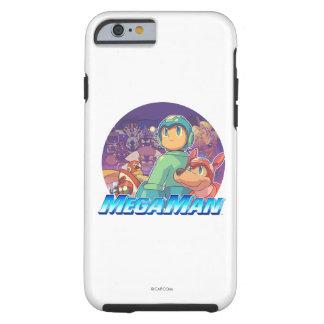 Mega Man & Rush Key Art Tough iPhone 6 Case