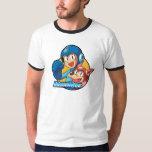Mega Man & Rush Shirts