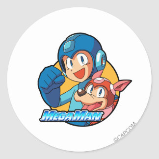 Mega Man & Rush Stickers