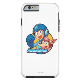Mega Man & Rush Tough iPhone 6 Case