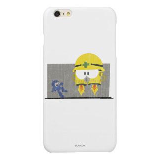Mega Man Vs Neo-Metol Glossy iPhone 6 Plus Case