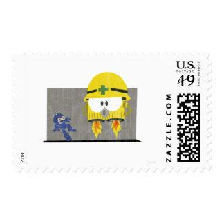 Mega Man Vs Neo-Metol Stamps