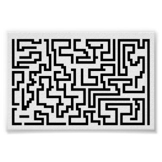 Mega Maze Poster