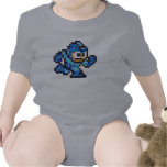 Mega Mossaic Baby Bodysuit