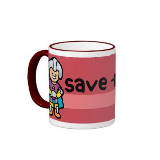 MEGA mug. Ringer Mug