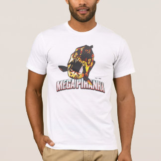 Mega Piranha Shirt - Faded