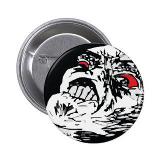Mega Rage Pinback Button