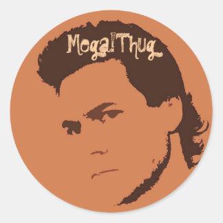 Mega!Thug Round Stickers