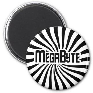 Megabyte Geek Magnets