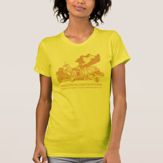 Megacephalometrophobia T-shirt