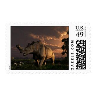 Megacerops Postage Stamps