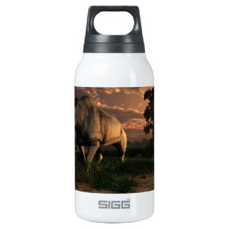 Megacerops 10 Oz Insulated SIGG Thermos Water Bottle