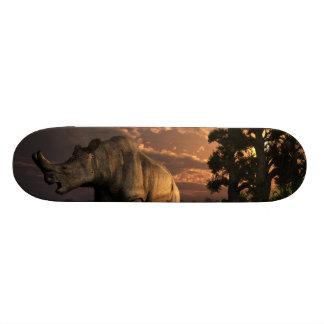 Megacerops Skate Deck
