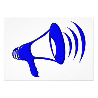 Megáfono - añada sus propias palabras